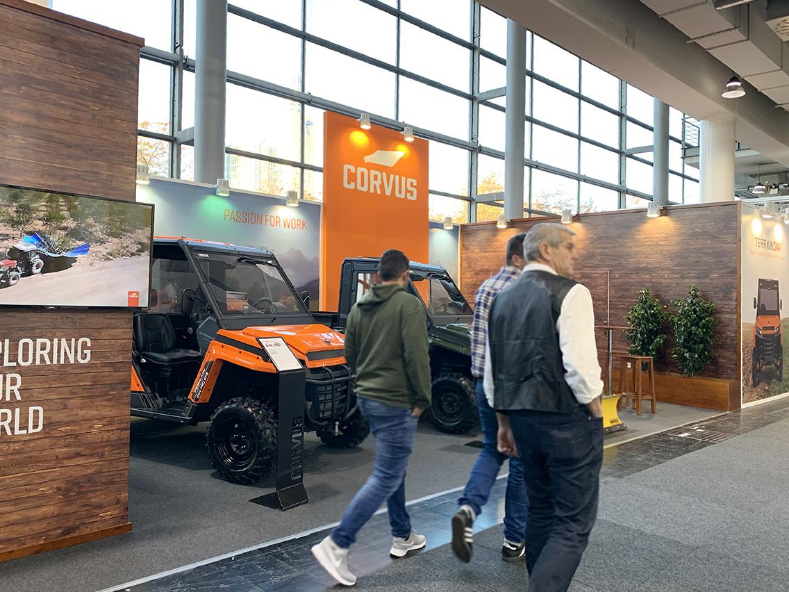 CORVUS Presentó su modelo cabinado en Agritechnica 2019