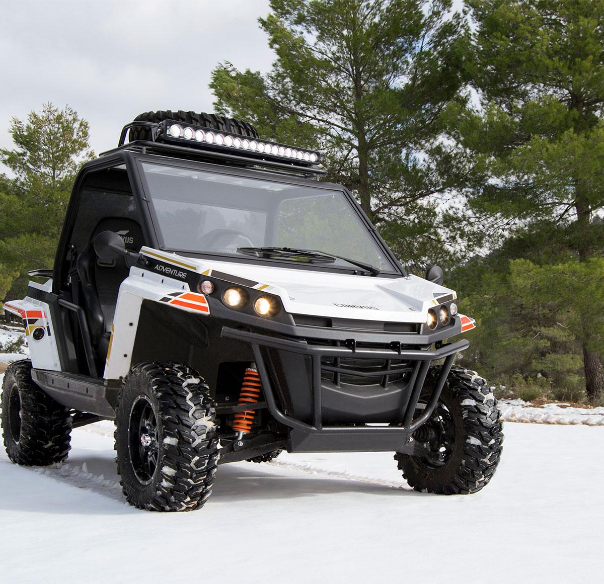 5 consejos para conducir tu vehículo todoterreno sobre nieve o hielo